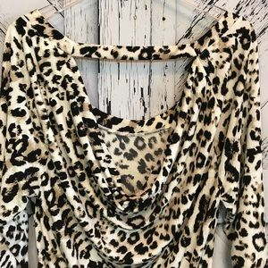 torrid Tops - Torrid Animal Print Tunic Top Blouse